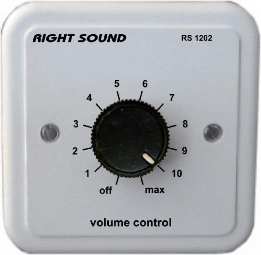 Ρυθμιστής έντασης 4 - 20W 100V RS 1202