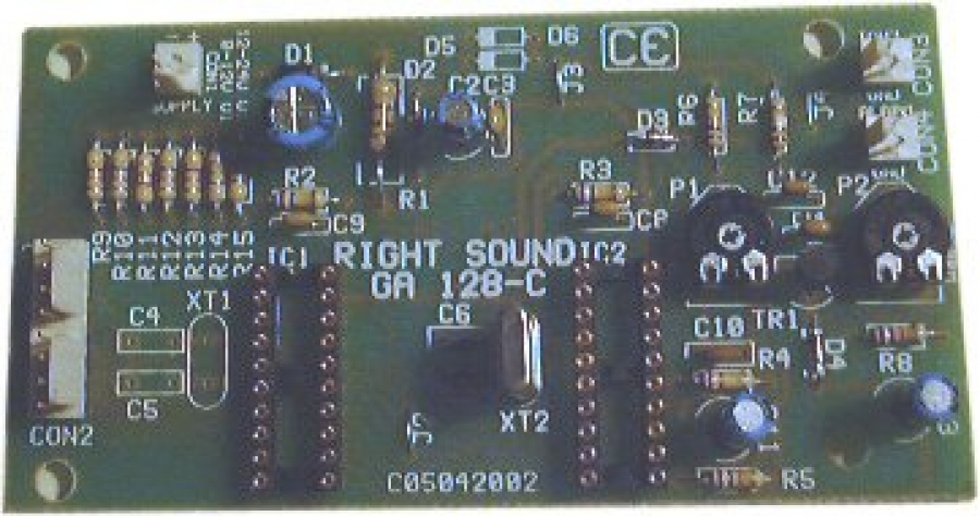 Κάρτα σύνθετων ήχων με MCU RS 3010