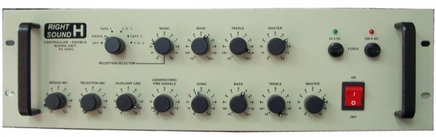Mixer ψηφιακού ελέγχου RS 4208